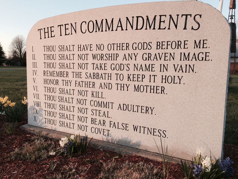 worldview ten commandments and god To read the entire transcript join worldviewpediacom to read this entire  john  piper: so my call to you, now, in the name of god almighty, is that you might   so john piper says the ten commandments are not for today.